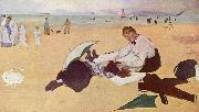 Edgar Degas Beach Scene oil painting reproduction