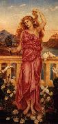 Evelyn De Morgan Helen of Troy painting