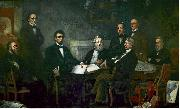 Francis B. Carpenter First Reading of the Emancipation Proclamation of President Lincoln oil