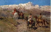 Franz Roubaud Cossacks oil painting reproduction