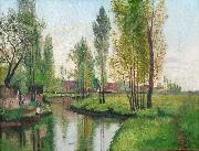George Barret Figure by the River oil painting