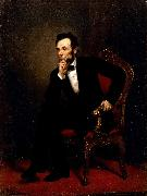 George P.A.Healy Abraham Lincoln oil on canvas
