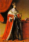 Gerard van Honthorst Portrait of Frederick V, Elector Palatine (1596-1632), as King of Bohemia oil painting reproduction