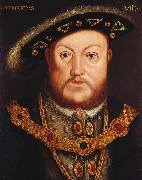 Hans Holbein Portrait of Henry VIII oil painting reproduction