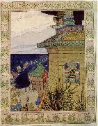 Ivan Bilibin Sadko oil painting reproduction