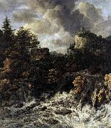 Jacob van Ruisdael The Waterfall oil painting reproduction