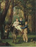 James Ward The Levett Children oil painting reproduction