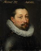 Jan Antonisz. van Ravesteyn Portrait of Charles de Levin oil