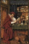 Jan Van Eyck St Jerome oil painting reproduction