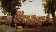 Jean-Baptiste Camille Corot View from the Farnese Gardens china oil painting artist