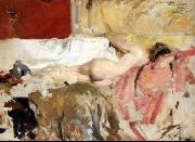 Joaquin Sorolla Female Nude oil painting reproduction
