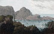 John William Edy Islands of Heliesund and HellisOe oil painting reproduction