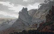 John William Edy Alum Mine at Egeberg oil painting