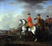 John Wootton George II at Dettingen oil painting reproduction