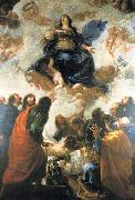 Juan Carreno de Miranda The Assumption of Mary oil on canvas
