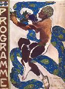 Leon Bakst in the ballet Afternoon of a Faun 1912 oil on canvas