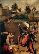 Lorenzo Lotto Susanna and the Elders oil painting reproduction