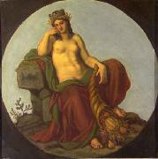 Lotz, Karoly Allegory of Earth oil painting reproduction