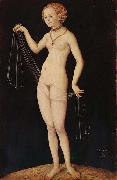 Lucas Cranach the Elder Venus oil painting reproduction