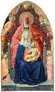 MASACCIO Virgin and Child with Saint Anne oil painting reproduction