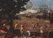Nicolas Poussin Summer oil painting reproduction
