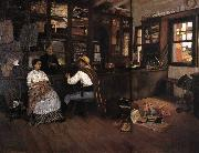 Pedro Weingartner Inside the emporium oil painting reproduction