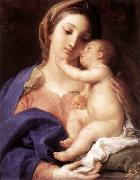 Pompeo Batoni Madonna and Child oil painting reproduction