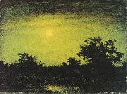 Ralph Albert Blakelock Moonlight oil painting reproduction