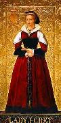 Richard Burchett Lady Jane Grey oil