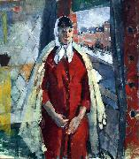 Rik Wouters Woman at the Window oil painting reproduction