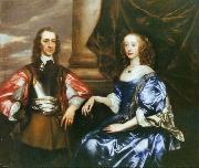 Earl and Countess of Oxford by Sir Peter lely