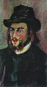 Suzanne Valadon Portrait of Erik Satie oil painting reproduction