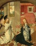 The Brunswick Monogrammist The Annunciation oil painting reproduction