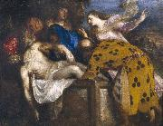 Titian The Burial of Christ oil painting reproduction