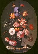 AST, Balthasar van der Flowers in a Glass Vase oil painting