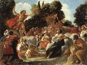 Anastagio Fontebuoni St.john the Baptist Preaching oil painting reproduction
