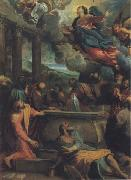 Annibale Carracci The Assumption of the Virgin oil painting reproduction