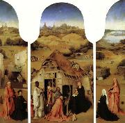 BOSCH, Hieronymus The Adoration of the Magi oil painting reproduction
