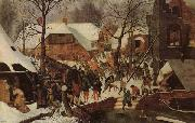 BRUEGHEL, Pieter the Younger Adoration of the Magi oil painting reproduction