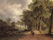 Barend Cornelis Koekkoek View of a Park china oil painting artist
