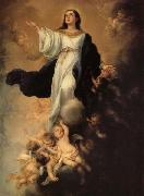Bartolome Esteban Murillo The Assumption of the Virgin oil painting reproduction