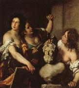 Bernardo Strozzi Allegory of the Arts oil painting reproduction