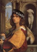 CAPRIOLO, Domenico Portrait of a Gentleman oil on canvas