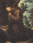 CIGOLI St.Francis in Prayer oil on canvas