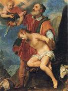 CIGOLI The Sacrifice of Isaac oil on canvas