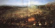 COURTOIS, Jacques The Battle of Lutzen oil painting reproduction