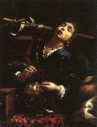 Cairo, Francesco del Herodias with the Head of St. John the Baptist oil on canvas