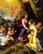 Calvaert, Denys The Mystic Marriage of St. Catherine oil on canvas