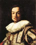 Carlo Dolci Portrait of Stefano Della Bella oil on canvas