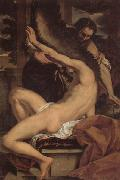 Charles Lebrun Daedalus and Icarus oil on canvas